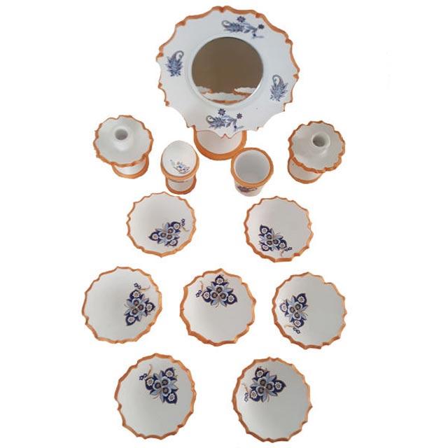 ظروف هفت سین رنگ سفید