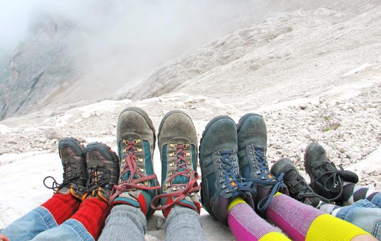 اندازهی کفش کوهنوردی