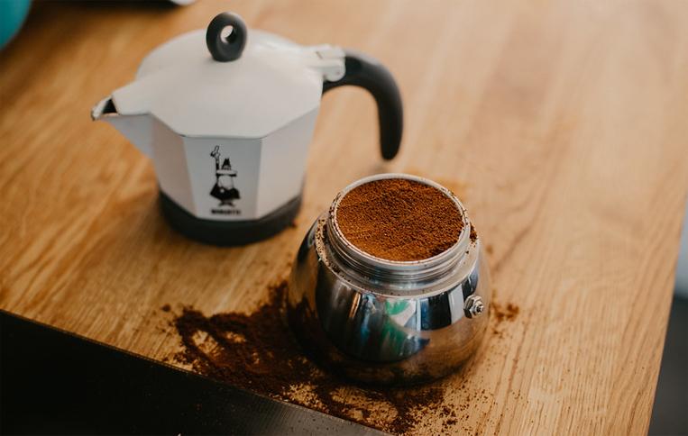 دانه قهوه برای موکاپات